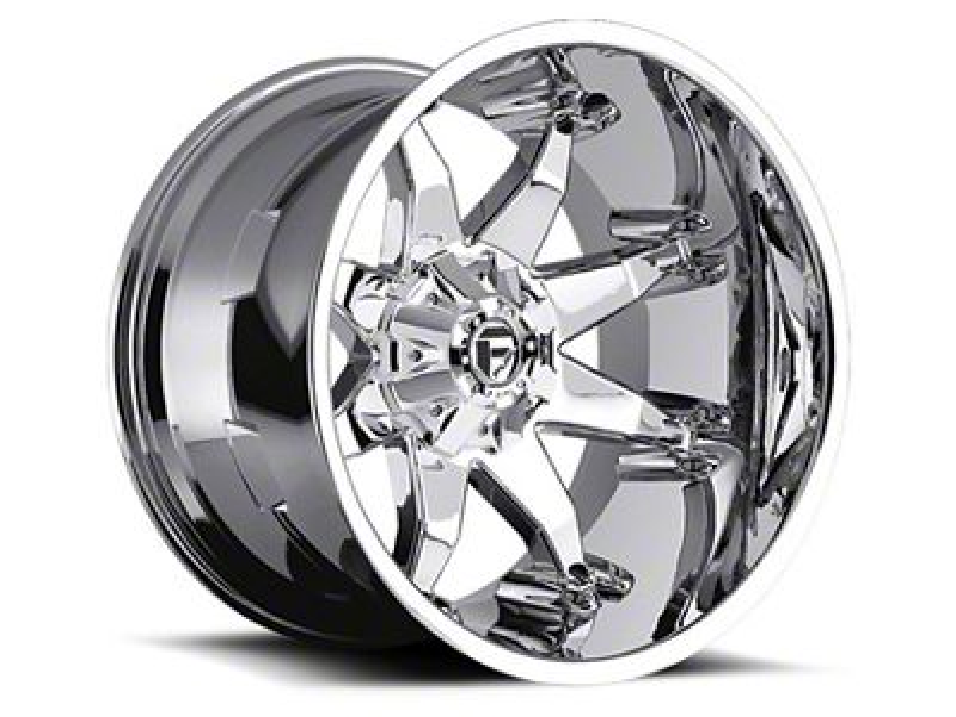 Fuel Wheels Octane Chrome 5-Lug Wheel - 18x9 (02-18 RAM 1500, Excluding Mega Cab)