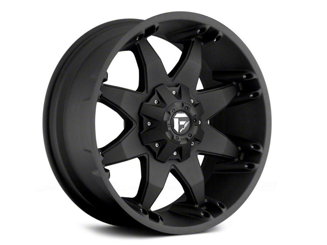 Fuel Wheels Octane Matte Black 5-Lug Wheel - 22x10 (02-18 RAM 1500, Excluding Mega Cab)