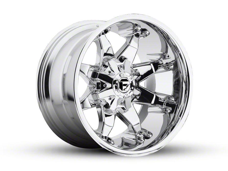Fuel Wheels Octane Chrome 5-Lug Wheel - 20x12 (02-18 RAM 1500, Excluding Mega Cab)