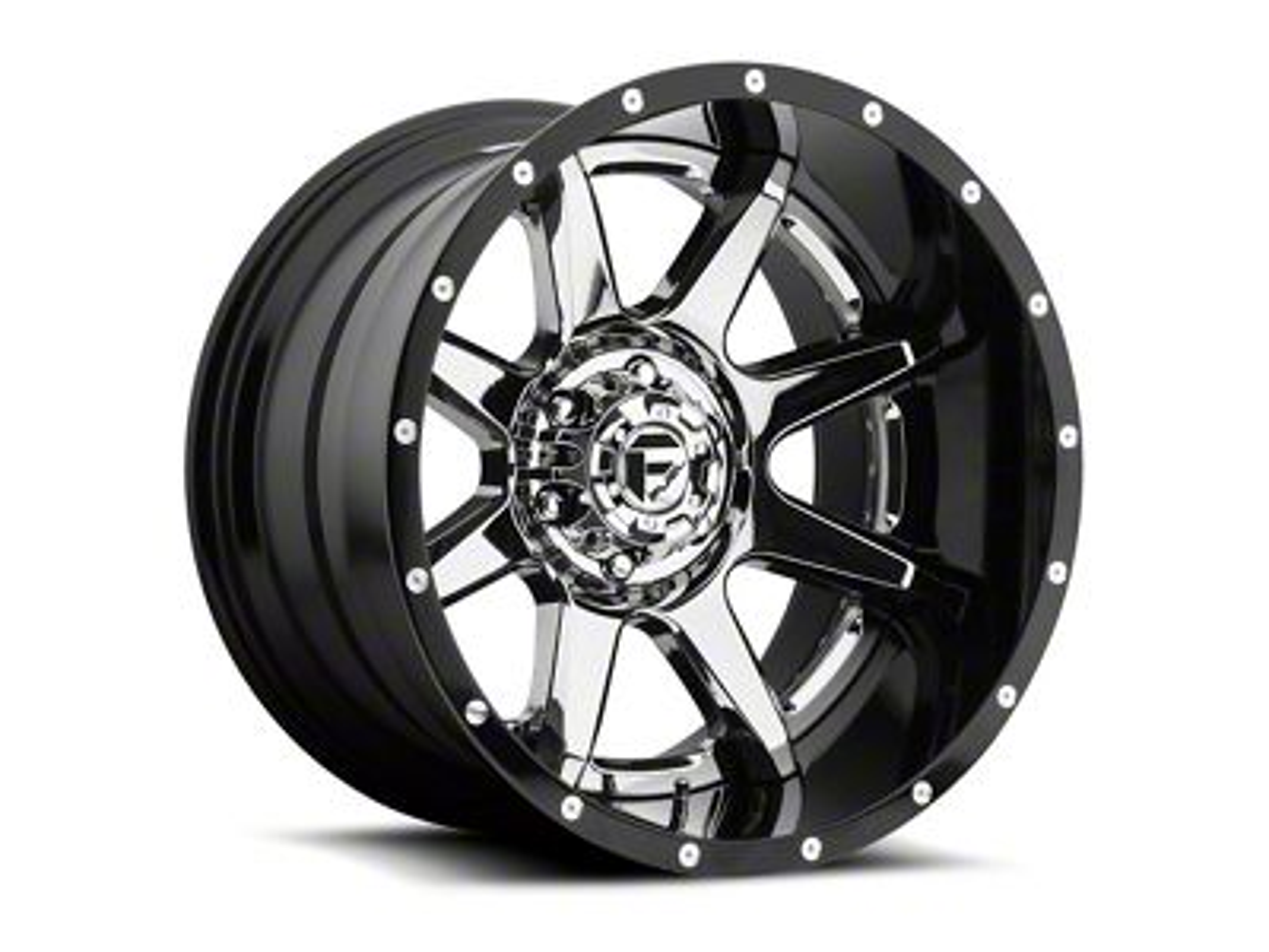 Fuel Wheels Rampage Chrome 5-Lug Wheel - 20x12 (02-18 RAM 1500, Excluding Mega Cab)
