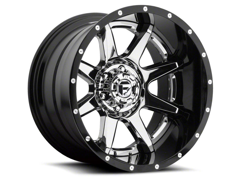 Fuel Wheels Rampage Chrome 5-Lug Wheel - 22x12 (02-18 RAM 1500, Excluding Mega Cab)