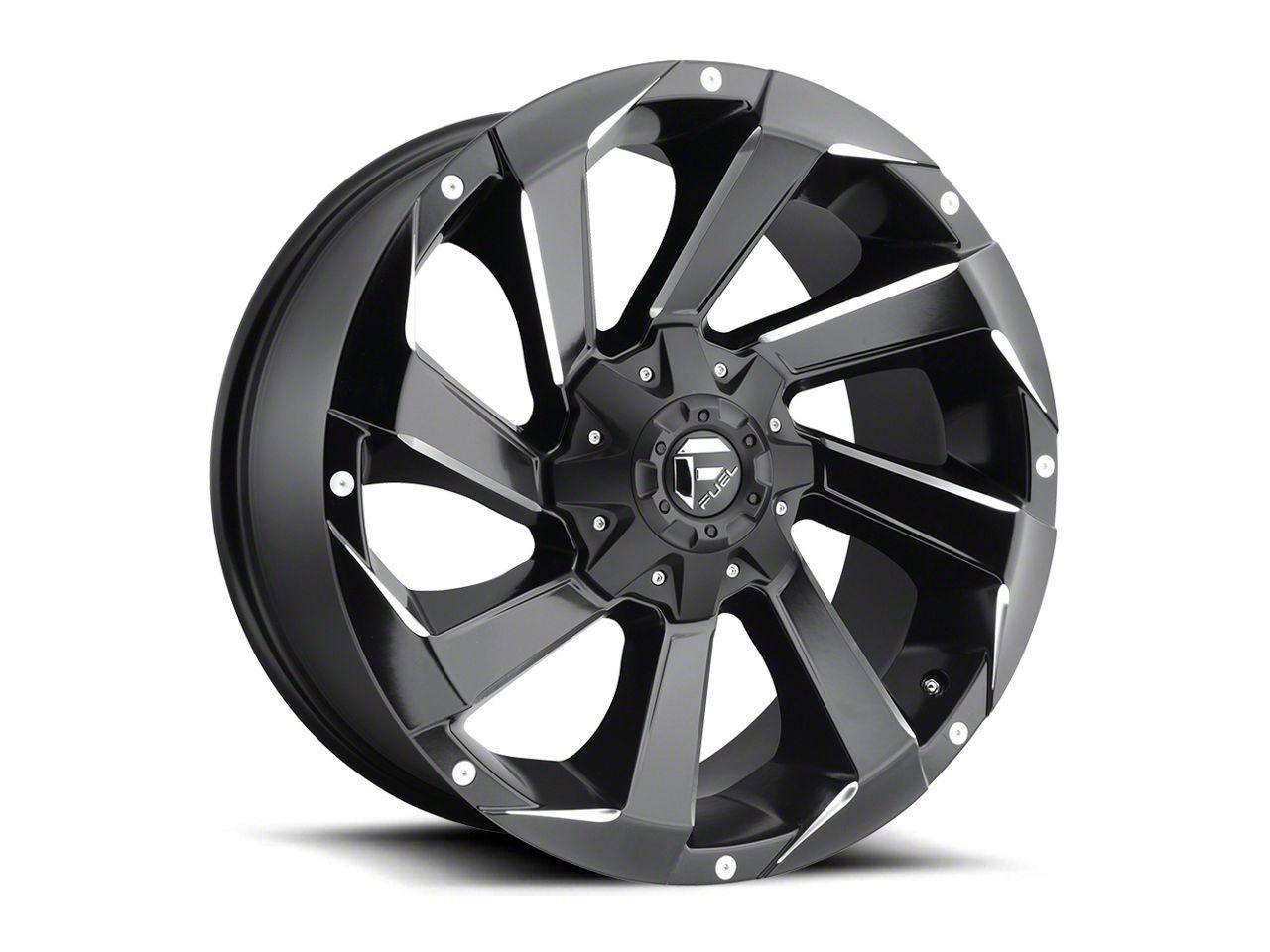 Fuel Wheels Razor Matte Black Milled 5-Lug Wheel - 18x9 (02-18 RAM 1500, Excluding Mega Cab)