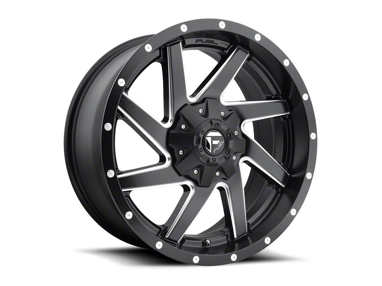 Fuel Wheels Renegade Matte Black Milled 5-Lug Wheel - 20x9 (02-18 RAM 1500, Excluding Mega Cab)