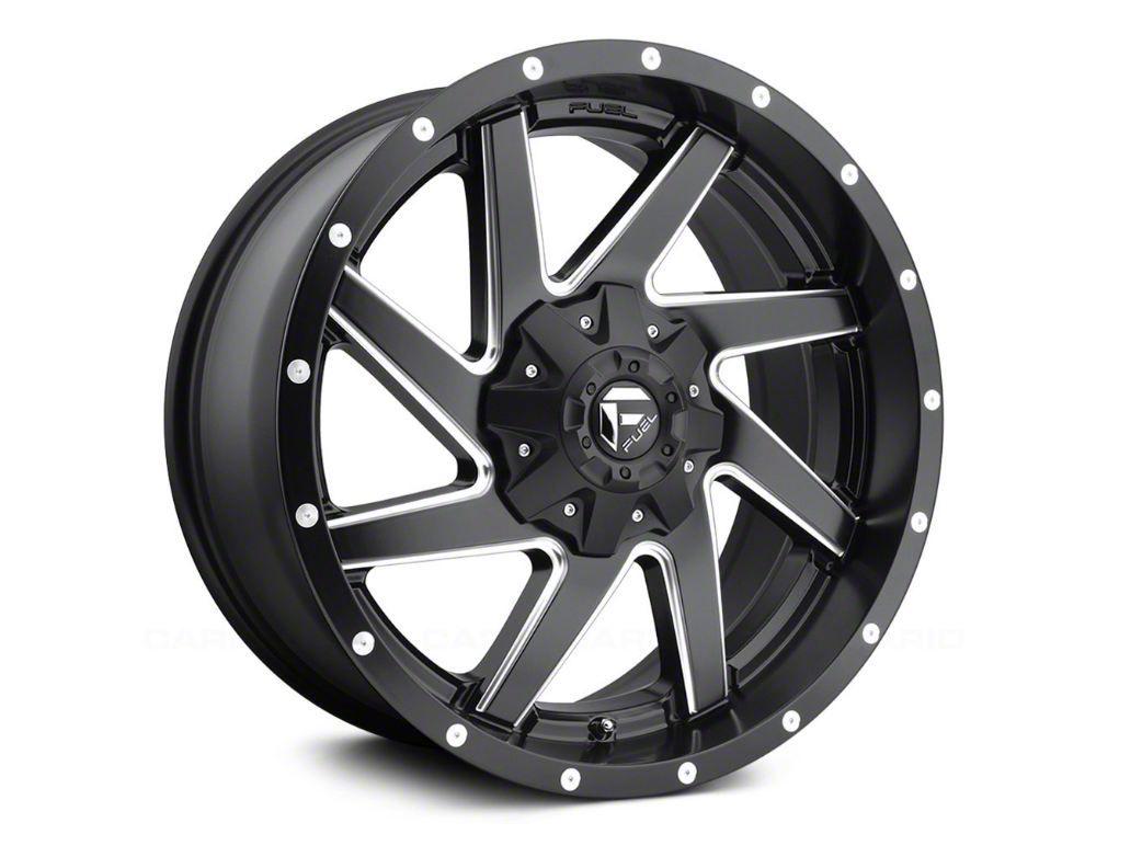 Fuel Wheels Renegade Matte Black Milled 5-Lug Wheel - 17x9 (02-18 RAM 1500, Excluding Mega Cab)