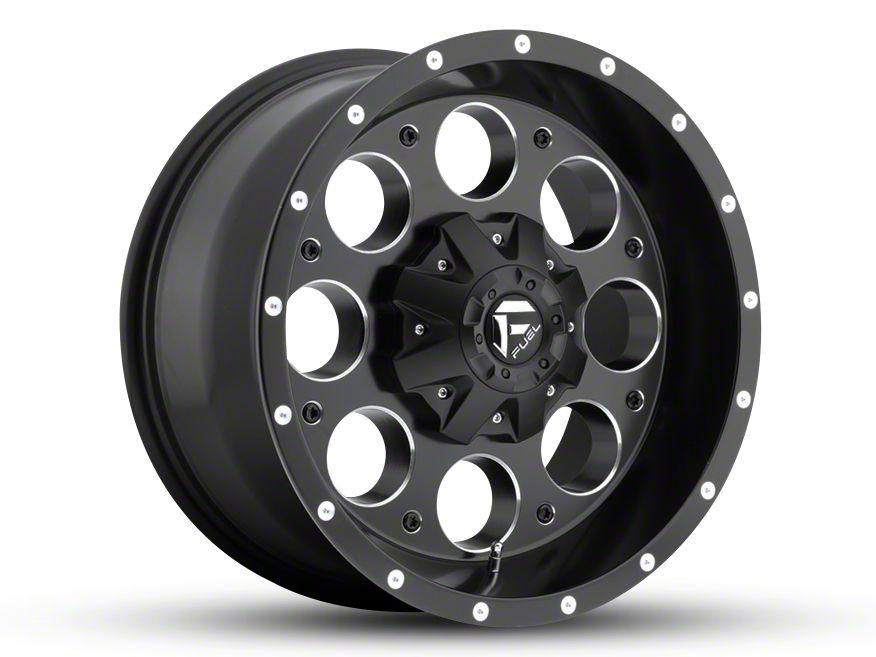 Fuel Wheels Revolver Black Milled 5-Lug Wheel - 18x9 (02-18 RAM 1500, Excluding Mega Cab)