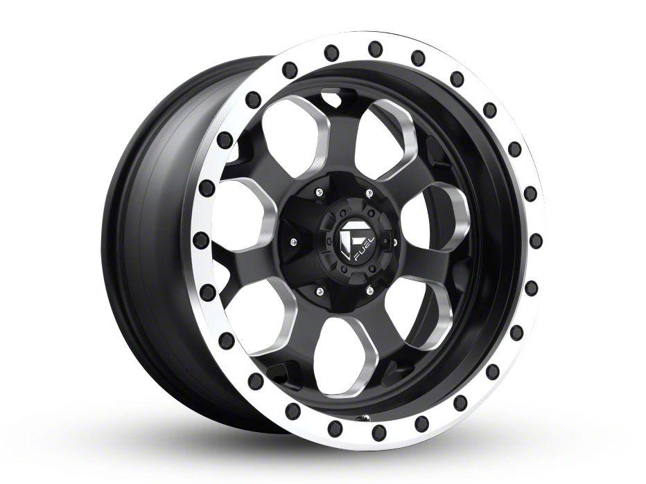 Fuel Wheels Savage Black Milled 5-Lug Wheel - 18x9 (02-18 RAM 1500, Excluding Mega Cab)