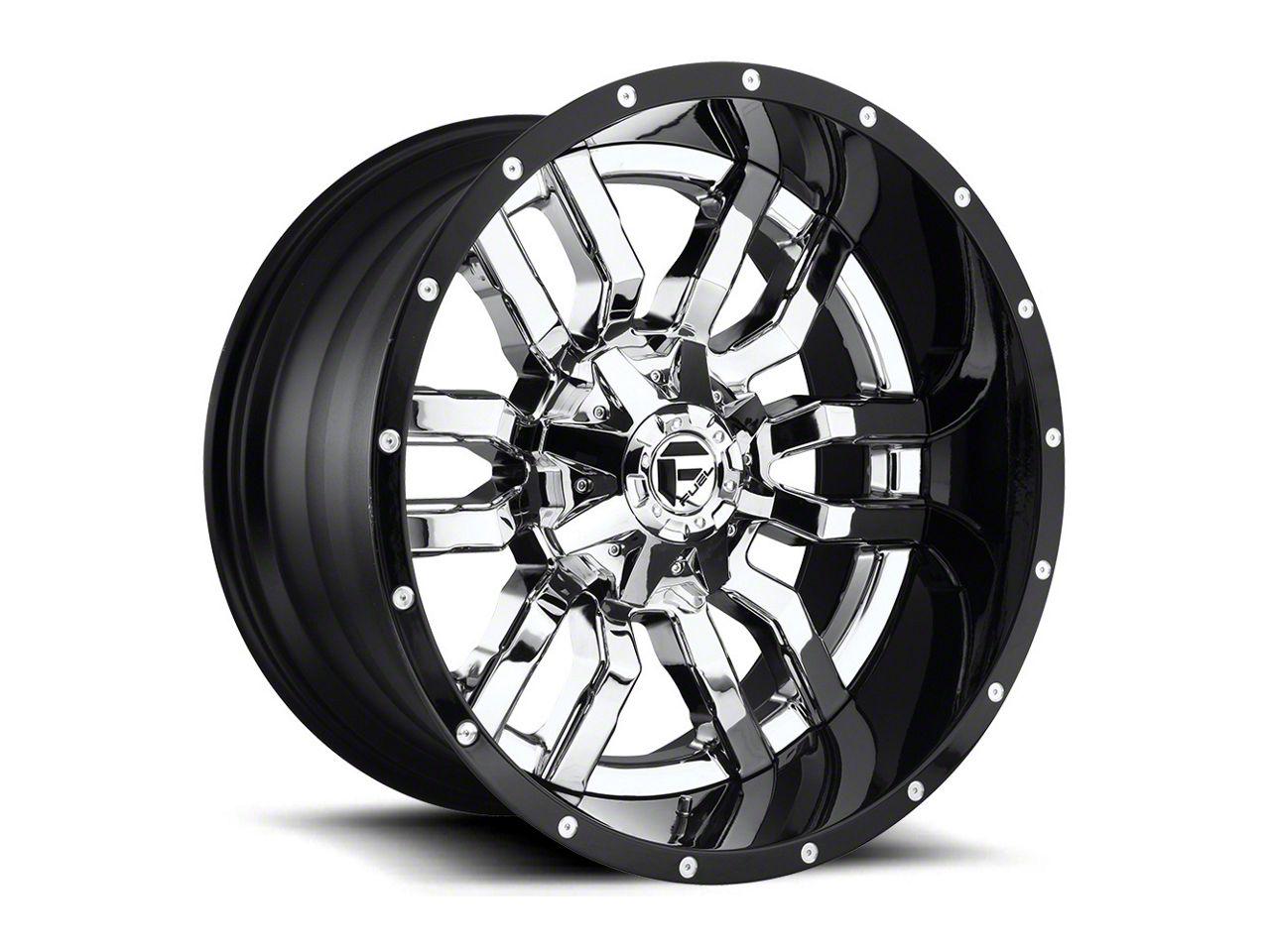 Fuel Wheels Sledge Chrome 5-Lug Wheel - 20x12 (02-18 RAM 1500, Excluding Mega Cab)