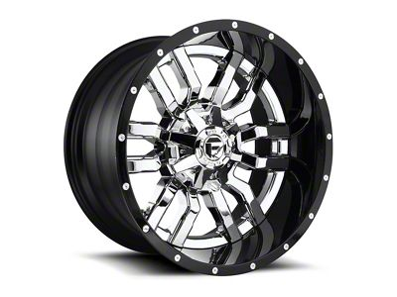 Fuel Wheels Sledge Chrome 5-Lug Wheel - 22x14 (02-18 RAM 1500, Excluding Mega Cab)