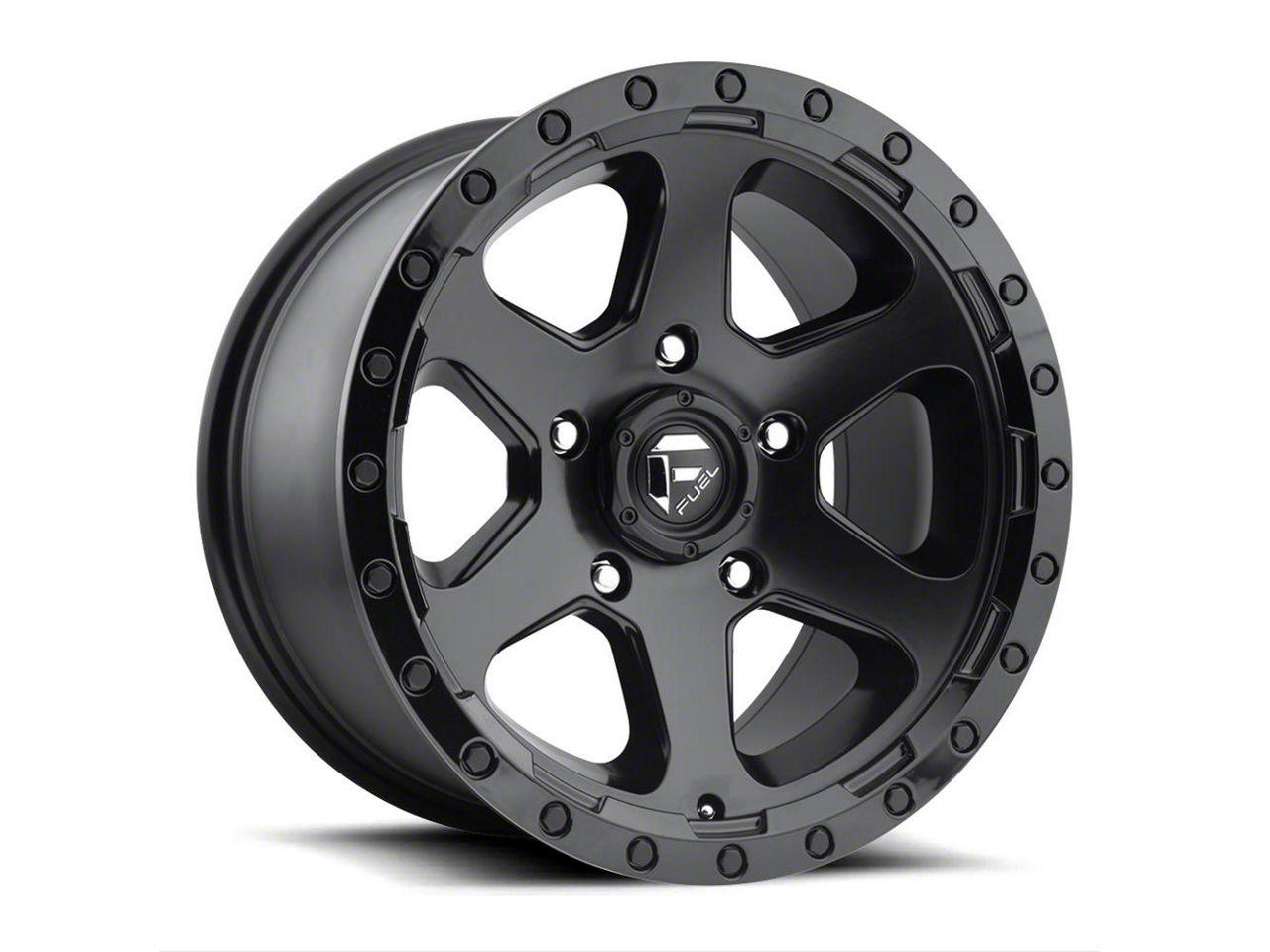 Fuel Wheels Ripper Matte Black 5-Lug Wheel - 18x9 (02-18 RAM 1500, Excluding Mega Cab)