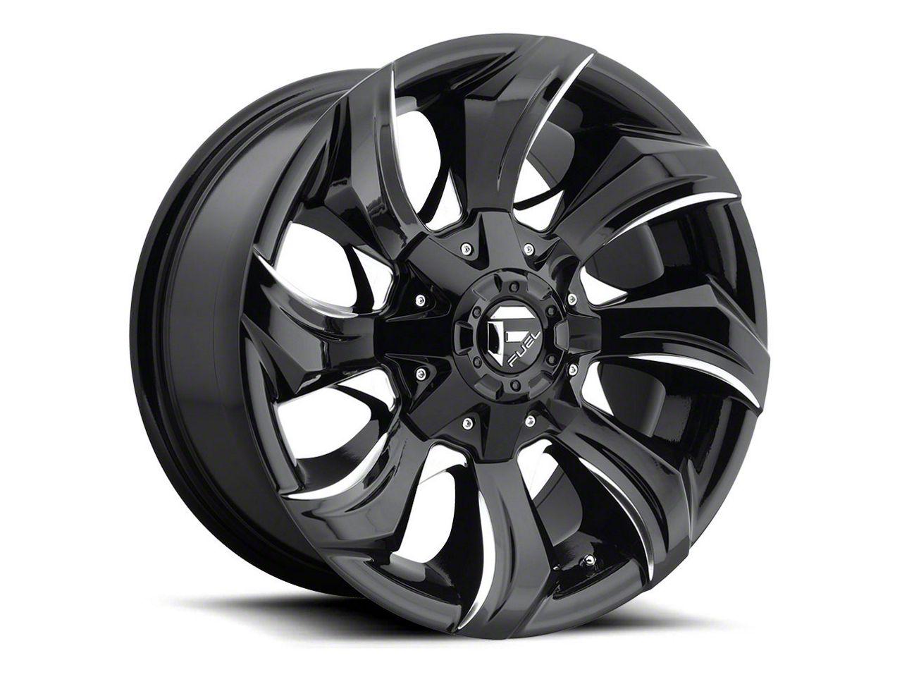 Fuel Wheels STRYKR Gloss Black Milled 5-Lug Wheel - 20x10 (02-18 RAM 1500, Excluding Mega Cab)