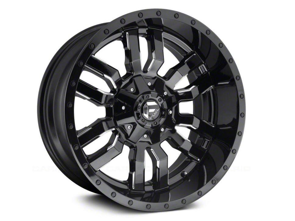 Fuel Wheels Sledge Gloss & Matte Black 5-Lug Wheel - 18x9 (02-18 RAM 1500, Excluding Mega Cab)