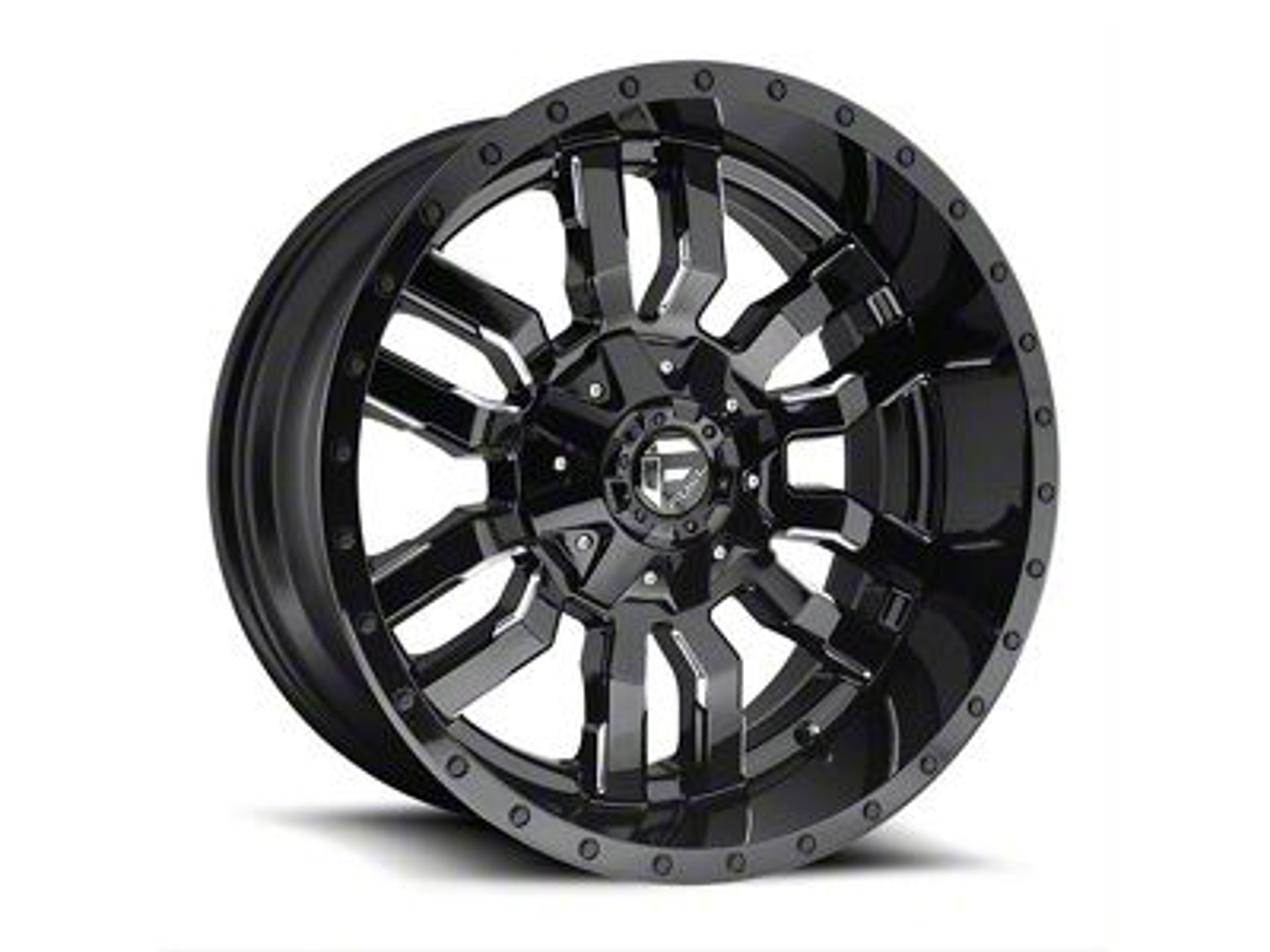 Fuel Wheels Sledge Matte Black 5-Lug Wheel - 20x9 (02-18 RAM 1500, Excluding Mega Cab)