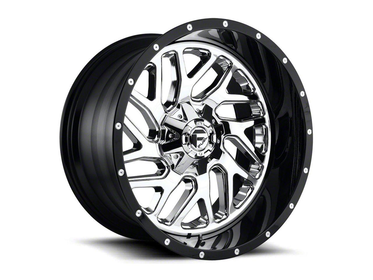 Fuel Wheels Triton Chrome 5-Lug Wheel - 20x12 (02-18 RAM 1500, Excluding Mega Cab)