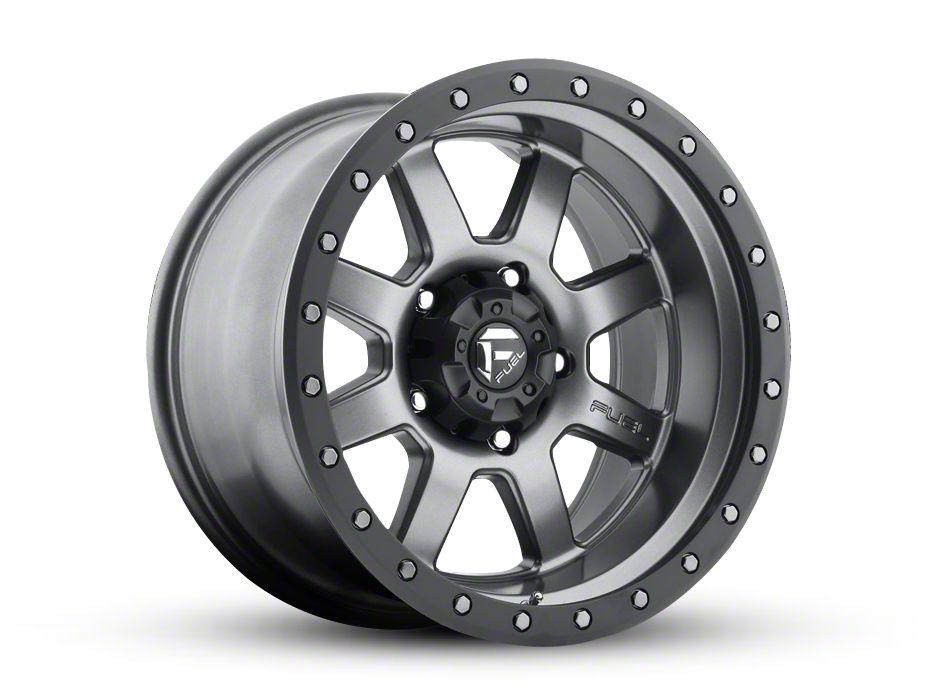 Fuel Wheels Trophy Gun Metal 5-Lug Wheel - 18x10 (02-18 RAM 1500, Excluding Mega Cab)