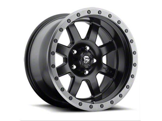 Fuel Wheels Trophy Matte Black 5-Lug Wheel - 18x10 (02-18 RAM 1500, Excluding Mega Cab)