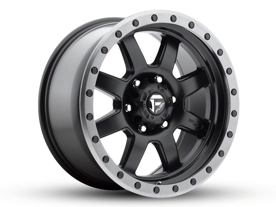 Fuel Wheels Trophy Matte Black 5-Lug Wheel - 18x9 (02-18 RAM 1500, Excluding Mega Cab)