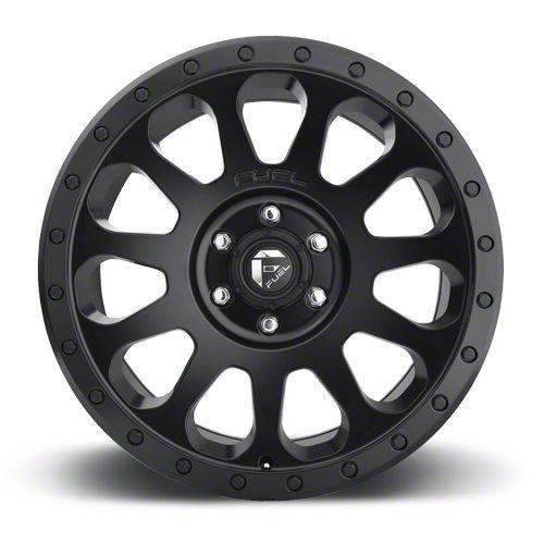 Fuel Wheels Vector Matte Black 5-Lug Wheel - 17x8.5 (02-18 RAM 1500, Excluding Mega Cab)
