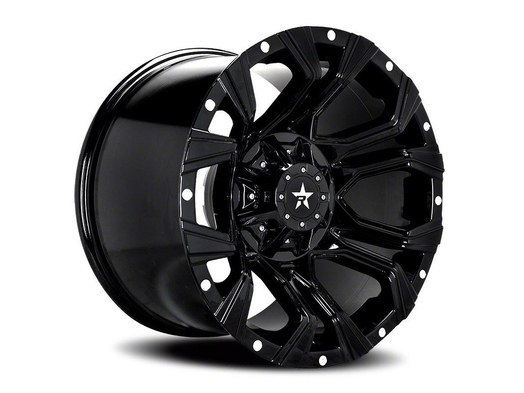 RBP 64R Widow Gloss Black 5-Lug Wheel - 20x10 (02-18 RAM 1500, Excluding Mega Cab)