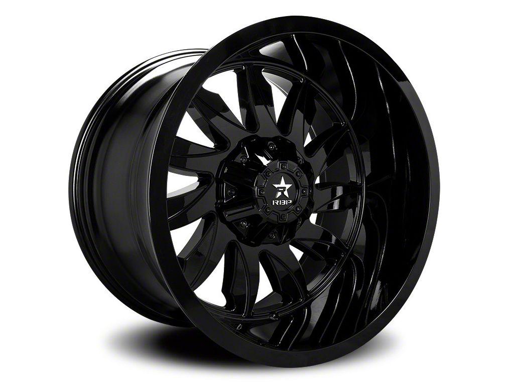 RBP 74R Silencer Gloss Black 5-Lug Wheel - 20x10 (02-18 RAM 1500, Excluding Mega Cab)