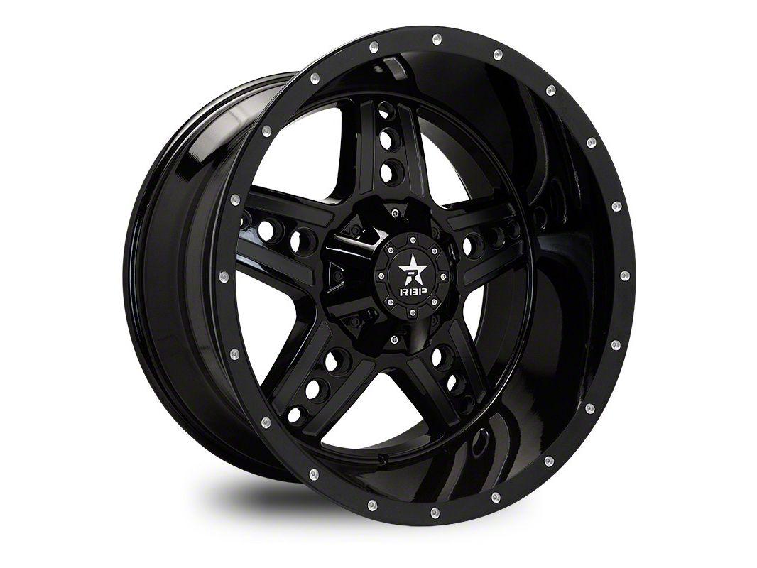 RBP 90R Colt Gloss Black 5-Lug Wheel - 20x10 (02-18 RAM 1500, Excluding Mega Cab)