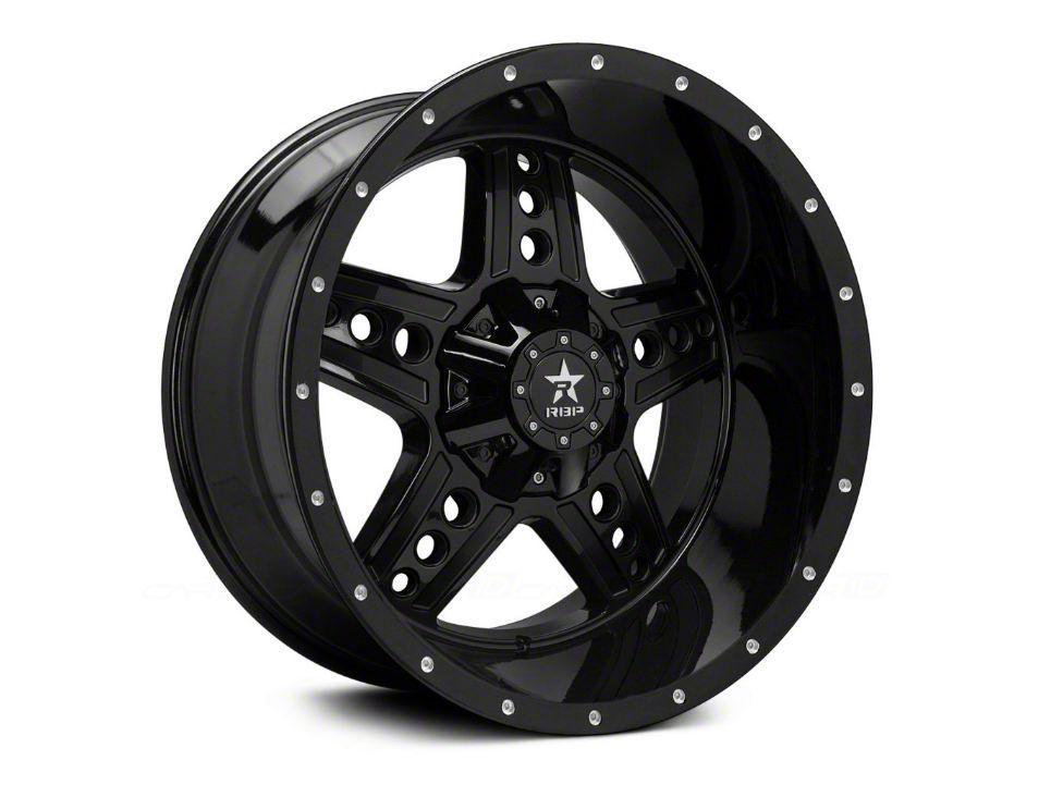 RBP 90R Colt Gloss Black 5-Lug Wheel - 22x12 (02-18 RAM 1500, Excluding Mega Cab)