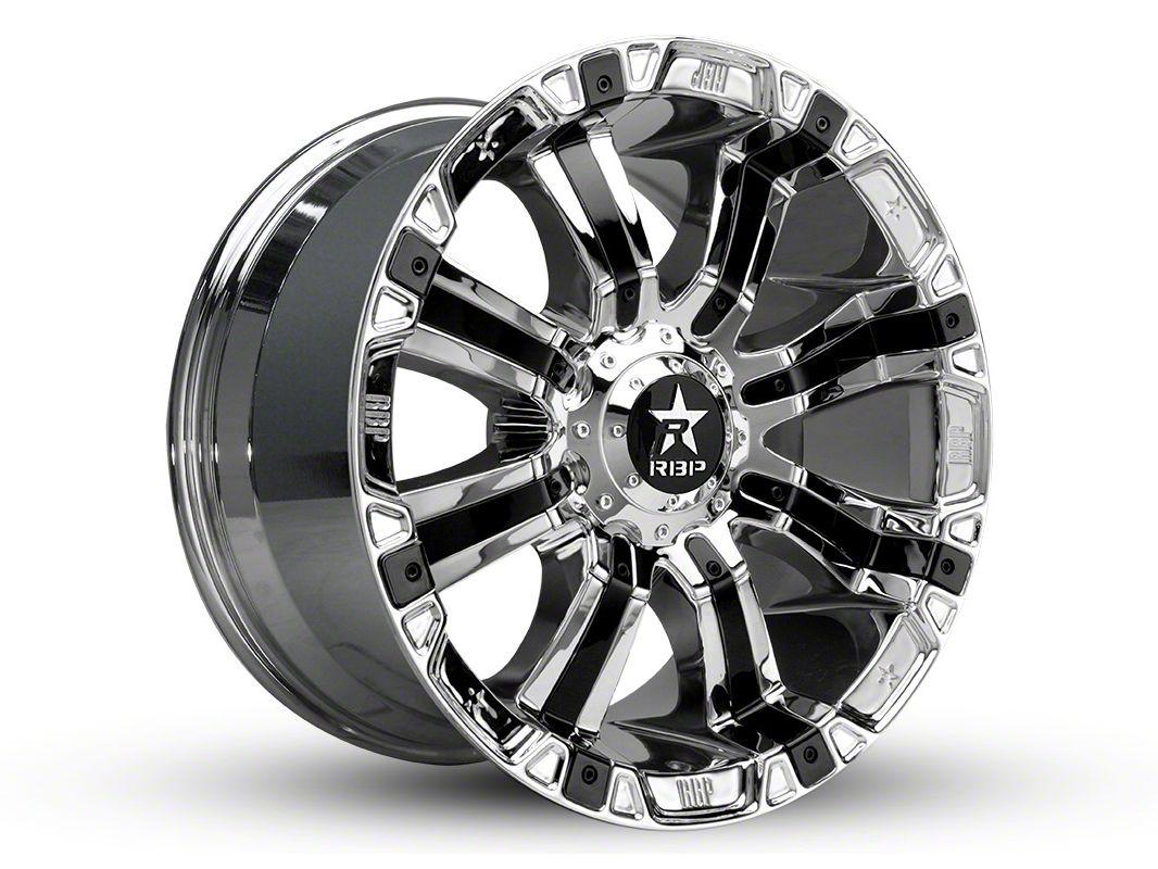 RBP 94R Chrome w/ Black Inserts 5-Lug Wheel - 18x10 (02-18 RAM 1500, Excluding Mega Cab)