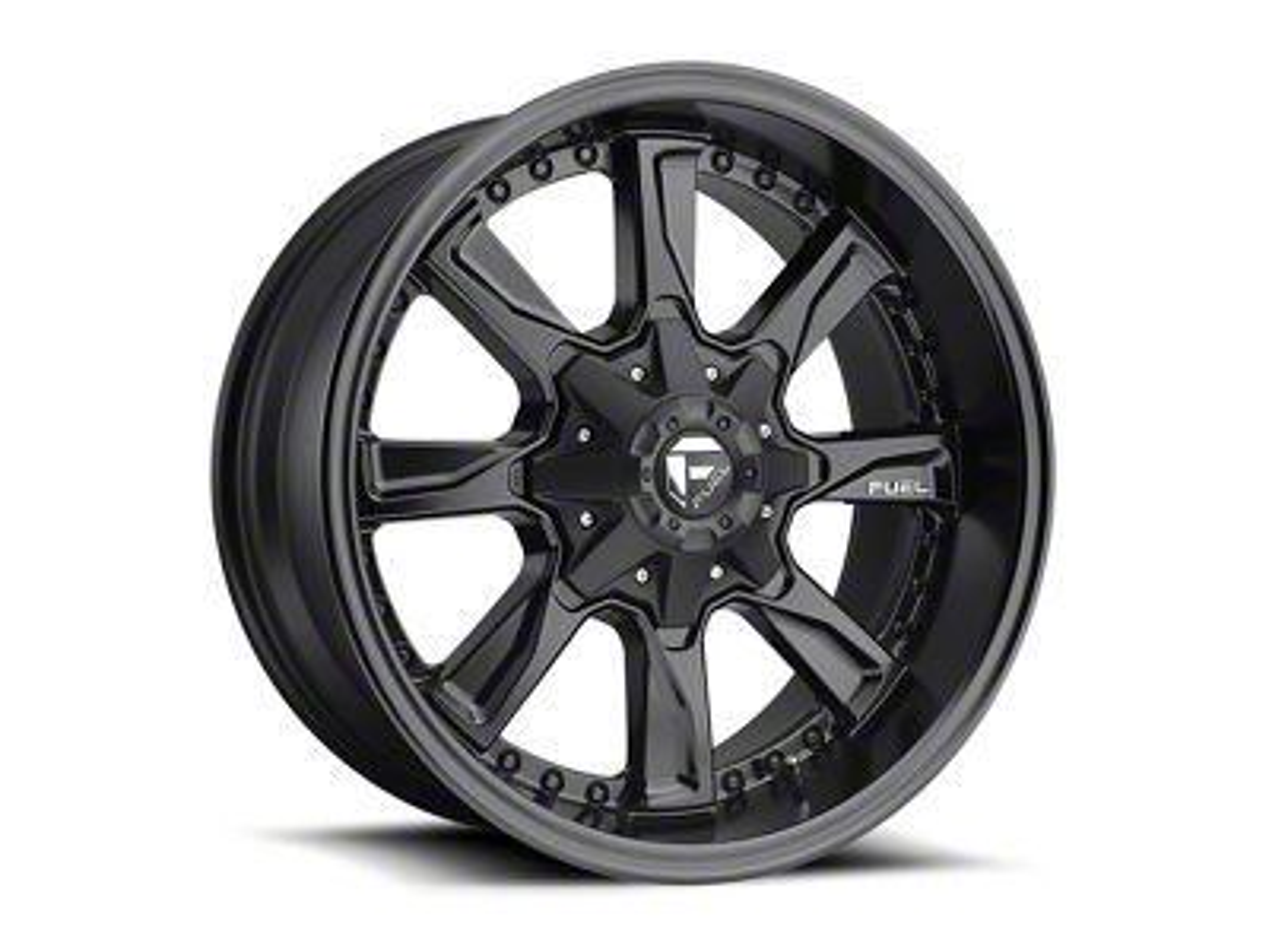 Fuel Wheels Hydro Matte Black 5-Lug Wheel - 20x9 (02-18 RAM 1500, Excluding Mega Cab)