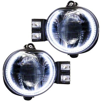 Oracle Chrome OE Style LED Halo Fog Lights (02-05 RAM 1500)