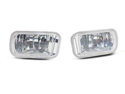 Oracle Chrome Non-Vertical OE Style LED Halo Fog Lights (09-15 RAM 1500 w/ Non-Vertical Fog Lights)