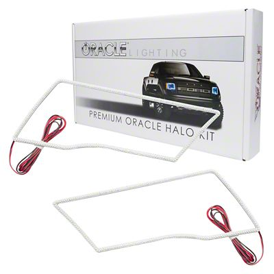 Oracle LED Headlight Halo Conversion Kit (09-18 RAM 1500 Sport w/o Projector Headlights)