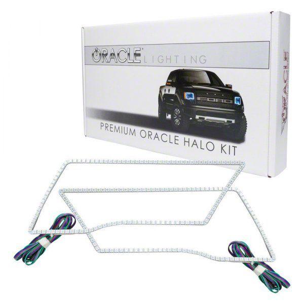 Oracle LED Headlight Halo Conversion Kit - ColorSHIFT (09-18 RAM 1500 w/o Projector Headlights)
