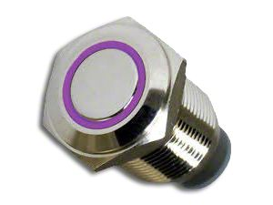 Oracle On/Off Flush Mount LED Switch - UV/Purple (02-19 RAM 1500)