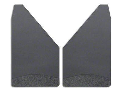 Husky 12 in. Wide Mud Flaps - Black Weight (02-19 RAM 1500)