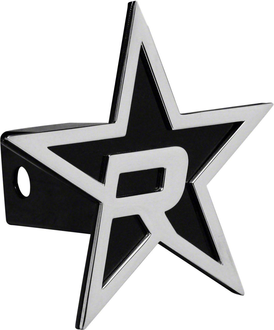 RBP Black/Chrome Star Hitch Cover (02-19 RAM 1500)