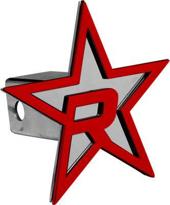 RBP Chrome/Red Star Hitch Cover (02-19 RAM 1500)