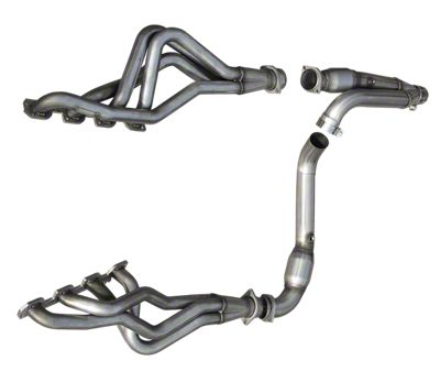 American Racing Headers 1-7/8 in. Long Tube Headers / Catted Y-Pipe (09-13 5.7L RAM 1500 w/ 6-Speed Automatic Transmission)