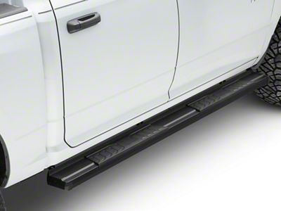RedRock 4x4 S6 Running Boards - Black (09-18 RAM 1500 Quad Cab, Crew Cab)