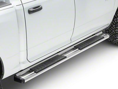 RedRock 4x4 S6 Running Boards - Stainless Steel (09-18 RAM 1500 Quad Cab, Crew Cab)