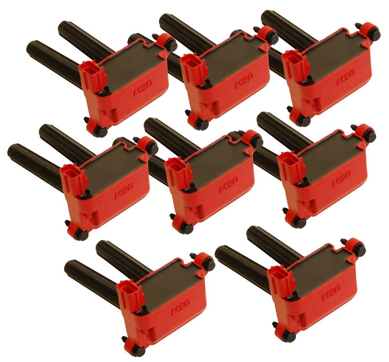 MSD Blaster Coil Packs - Red (03-05 5.7L RAM 1500)