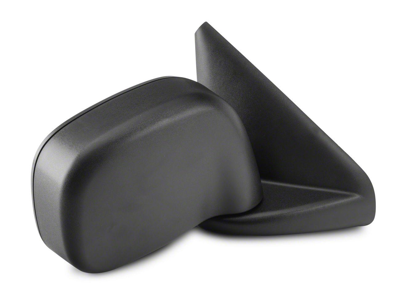 OPR Powered Heated Foldaway Mirror - Textured Black (02-05 RAM 1500)