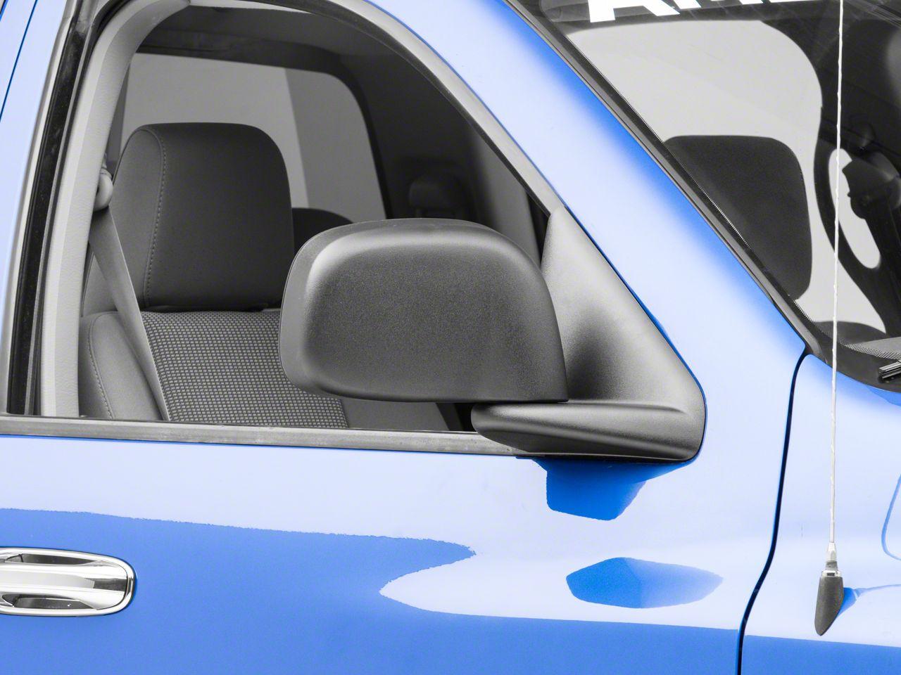 OPR Powered Heated Foldaway Mirror - Textured Black (06-08 RAM 1500)