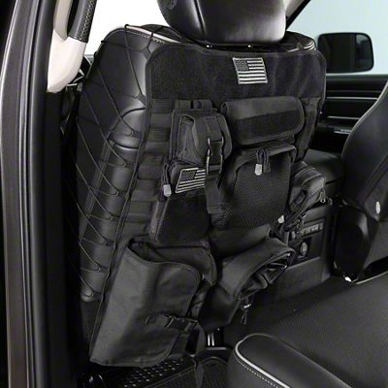 Smittybilt G.E.A.R. Front Seat Covers - Black (02-19 RAM 1500)