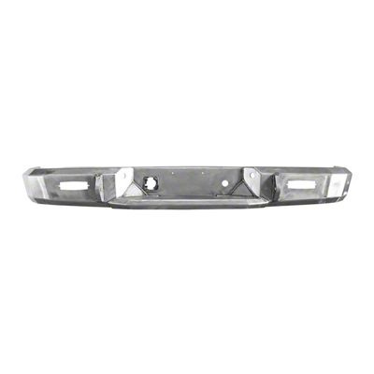 Westin HDX Rear Bumper - Raw (09-18 RAM 1500 w/o Factory Dual Exhaust)