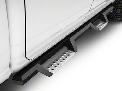 Westin HDX Drop BPS Nerf Side Step Bars - Textured Black (09-18 RAM 1500 Quad Cab, Crew Cab)
