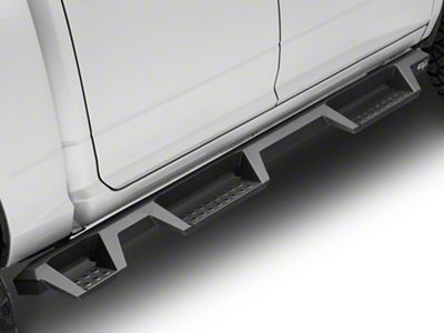 Westin HDX Drop WTW Nerf Side Step Bars - Textured Black (09-18 RAM 1500 Crew Cab)