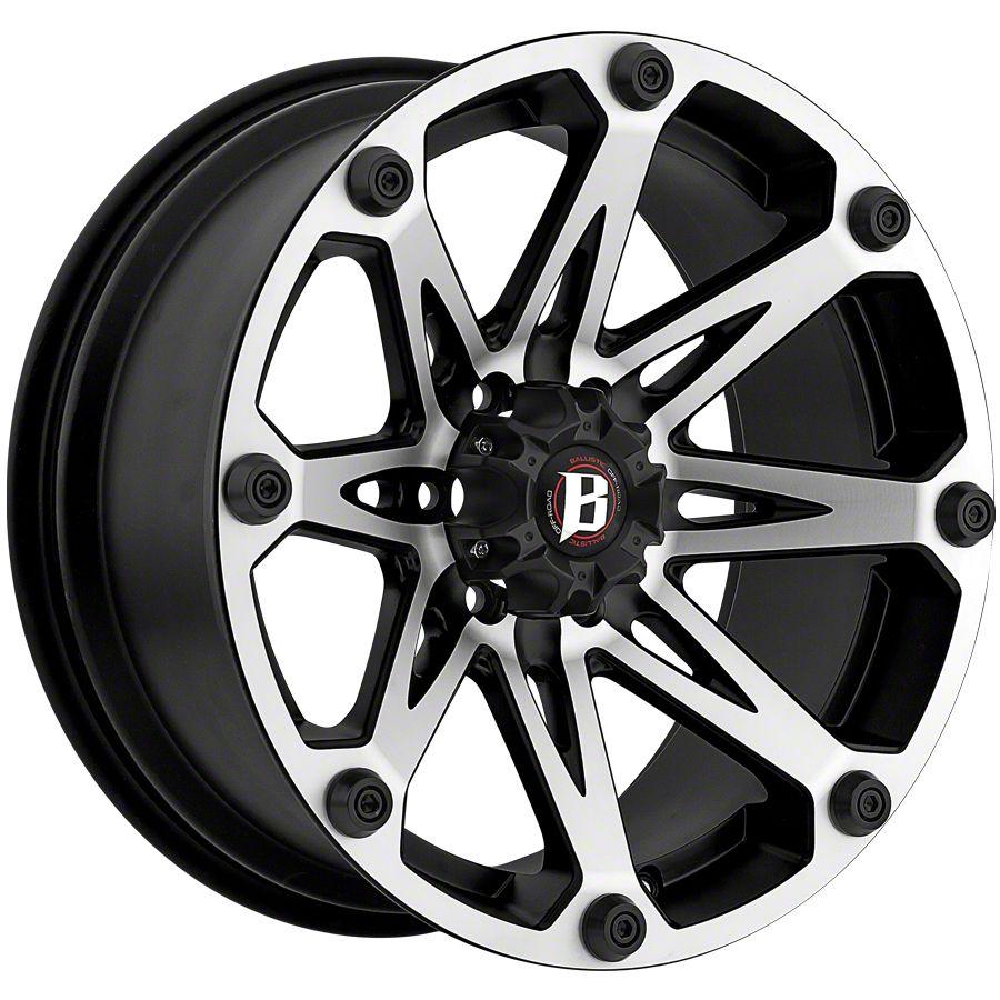 Ballistic Jester Flat Black 5-Lug Wheel - 20x9 (02-18 RAM 1500, Excluding Mega Cab)
