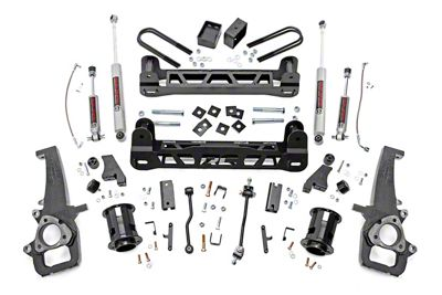 Rough Country 6 in. Suspension Lift Kit (06-08 2WD RAM 1500)