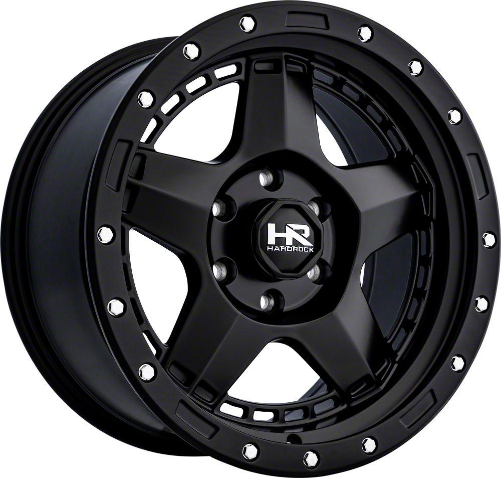 Hardrock Offroad H101 Matte Gunmetal 8-Lug Wheel - 20x9 (06-08 RAM 1500 Mega Cab)