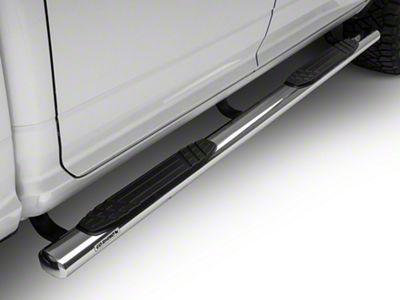 Go Rhino 4 in. OE Xtreme Side Step Bars - Stainless Steel (09-18 RAM 1500 Crew Cab)