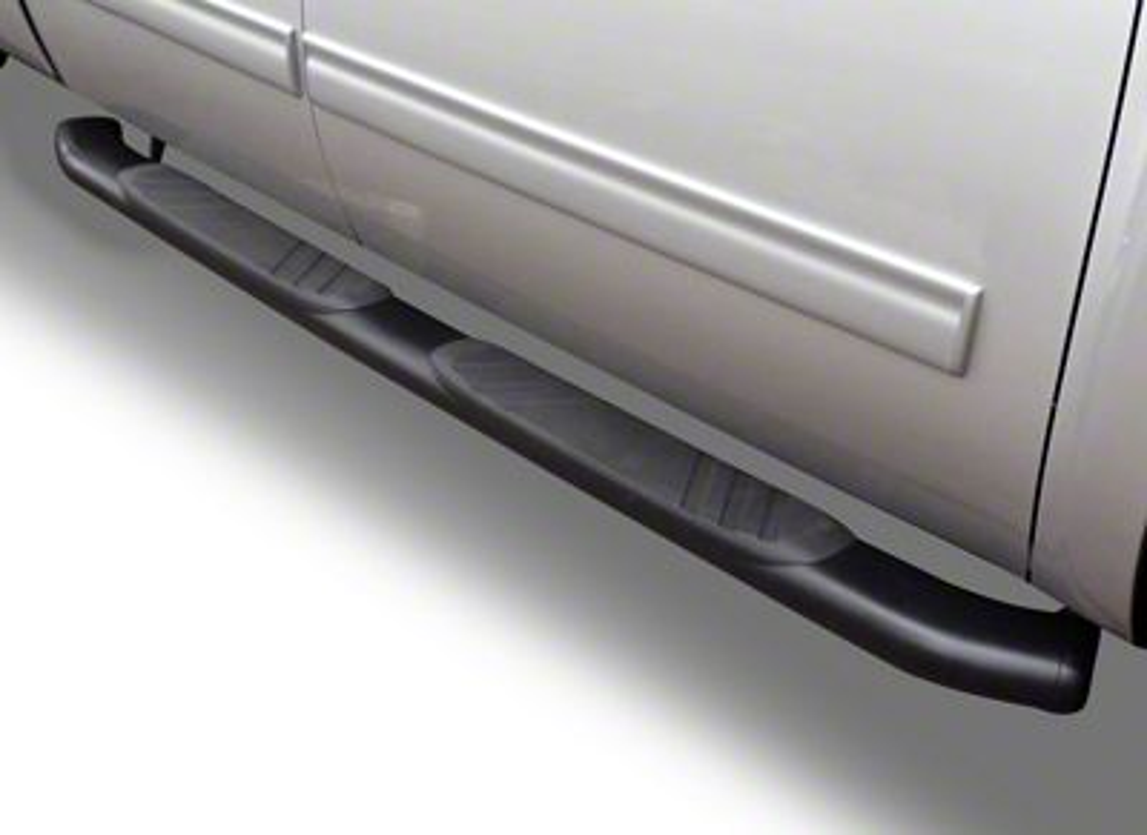 Go Rhino 5 in. OE Xtreme Composite Side Step Bars - Black (09-18 RAM 1500 Crew Cab)